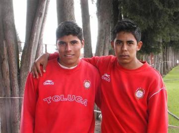 Raúl Nava y Néstor Calderón, jóvenes promesas del Toluca